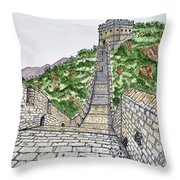 Greatest Wall Ever Throw Pillow