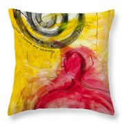 Greatness Charisma And Leadership Throw Pillow