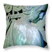 Grecian Goddess Throw Pillow