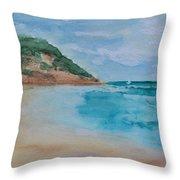 Grecian Sea Throw Pillow