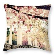 Grecian Spring Throw Pillow