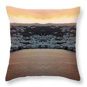 Greece Double Vision #154 Throw Pillow