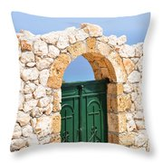 Greek Ancient Architecture Throw Pillow