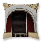 Greek Architecture Throw Pillow