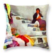 Greek Handicrafts I Throw Pillow