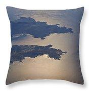 Greek Islands In The Aegean Sea   #7428 Throw Pillow