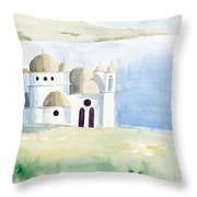 Greek Orthodox Church 2 Throw Pillow