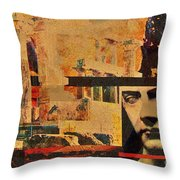 Greek Ruins Throw Pillow