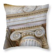 Greek Theatre 6 Throw Pillow