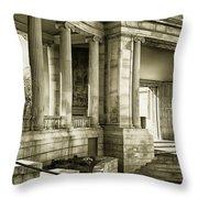 Greek Theatre 7 Golden Age Throw Pillow