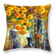 Greek Vases Throw Pillow