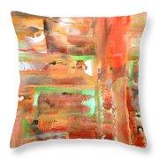 Green 4 Throw Pillow