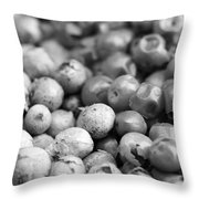 Green And Pink Peppercorn Blend Throw Pillow