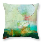 Green And Red 6 Throw Pillow