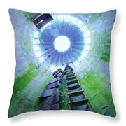 Green And Rustic Throw Pillow