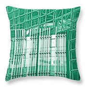 Green Business Throw Pillow