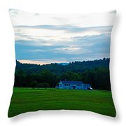 Lush Green  Throw Pillow
