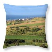 Green Fields Of  France  Throw Pillow