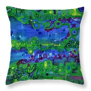 Green Functions Throw Pillow
