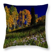 Green Hills Of Earth Throw Pillow