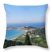 Green Island Erikousa Throw Pillow