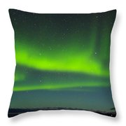 Green Lady Dancing 25 Throw Pillow