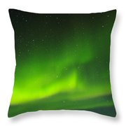 Green Lady Dancing 27 Throw Pillow