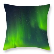 Green Lady Dancing 30 Throw Pillow
