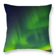 Green Lady Dancing 31 Throw Pillow