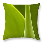 Green Leaves Series  1 Throw Pillow