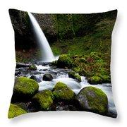 Green Mile Throw Pillow