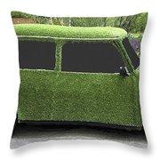 Green Mini Throw Pillow