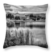 Green Of Hole 3 Mt Pleasant Course Throw Pillow