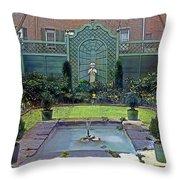 Green Retreat Throw Pillow