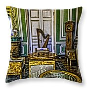 Green Room - Russia Throw Pillow