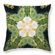 Green Thing Throw Pillow
