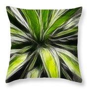 Green Tidings Of Joy Throw Pillow