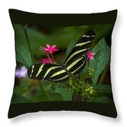 Green Without Envy Throw Pillow