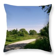Greene Valley Trail Throw Pillow