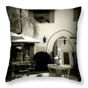 Greeneda Court Throw Pillow