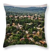 Greenfield Massachusets... Throw Pillow