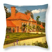 Greenhouse Throw Pillow