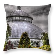 Greenhouse - The Observatory Throw Pillow
