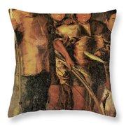 Greenlanders, 1654 Throw Pillow