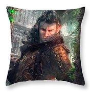 Greenside Watcher Throw Pillow