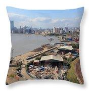Greenwich London Throw Pillow