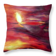 Greeting Card- 5 Throw Pillow