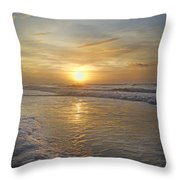 Greetings From Topsail Throw Pillow