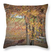 Greetings Of Nature Throw Pillow