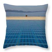 Greetings To The Sun Zadar Installation Throw Pillow